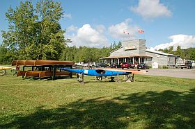 Killarney Outfitters for Canoe Kayak sale display