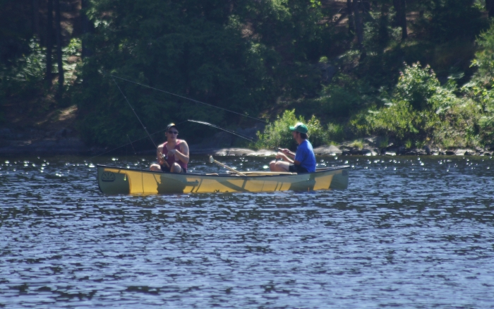 Fishing in Killarney Provincial Park