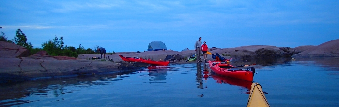 Kayaking Phillip Edward Island - Killarney