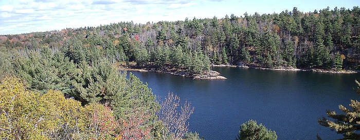 Lake of the Woods Trail is Killarney Provincial Park, Killarney Provincial Park